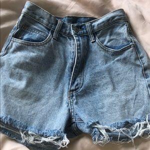 John Galt denim shorts